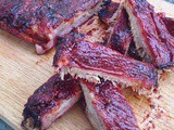 Chipotle and cherry bbq ribs