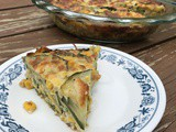 Corn and Zucchini pie on Home and Family Show