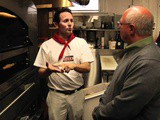 Tony Gemignani Shows Peter Reinhart His Pizza Ovens