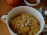 Apple Almond Halwa, How to make Seb Badam Halwa Recipe | Apple Almond Pudding