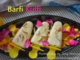 Barfi Kulfi Recipe, How to make Leftover Barfi Ice Cream | How To Use Leftover Mithai
