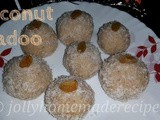 Coconut Ladoo Recipe, How to make 15 Minutes Coconut Ladoo | Coconut-Almond Laddu Recipe