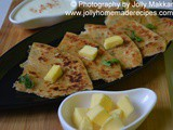 Rice Paratha Recipe, How to make Leftover Rice Paratha | Indian Flatbread with Leftover Rice