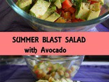 Summer Blast Salad with Avocado, How to make Chickpeas Avocado Salad | Salad Recipes