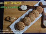 Toasted Sesame Barley Cookies, How to make Sesame Barley Cookies with Ginger