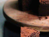Whole Wheat Eggless Chocolate Cake Recipe, Whole Wheat Chocolate Cake