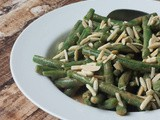 Almond Miso Green Beans