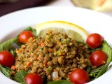 Weeknight Lentil Salad Recipe