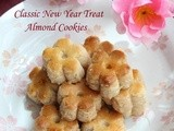 Cny Bake : Almond Cookies