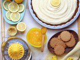 Ginger Tart with Lemon Mascarpone Cheese Tart
