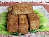 Homemade Egg Tofu using Black Soy Beans Milk