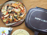 One Pan Pizza using HappyCall Pan
