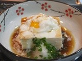 Onsen Tamago (Tofu with Hot Spring Egg) -aff featuring Japan