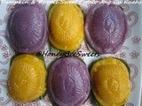 Purple Sweet Potato and Pumpkin Ang Gu Kueh ii