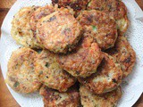Salmon Quinoa Potato Patties - a meal in one