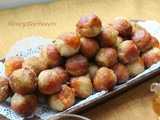 Taro cum Sweet Potato Glutinous Balls with Glutinous rice Cakes (年糕芋头番薯蛋)