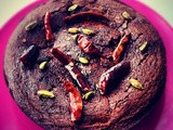 Spicy Chocolate and Brazil Nut Cake for Mother's Day