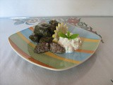 Stuffed vine leaves  Dolmadakia