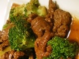 How to cook beef with broccoli