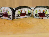 Crab Sushi Roll Art Tutorial