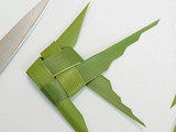 Palm Leaf Fish Garnish