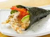 Soft Shell Crab Temaki Recipe
