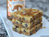 3 Ingredient Caramel Cookie Bars