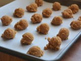 3 ingredient peanut butter cookies that are amazing!!! seem almost too good to be true