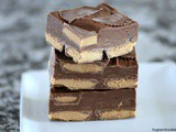 3 Minute Peanut Butter Cup Fudge