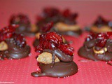 Almond & Cranberry Chocolate Clusters