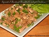 Apricot & Mustard Shredded Crockpot Chicken