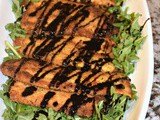 Balsamic Chicken Arugula Salad