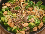 Beef and Chicken Stir Fry