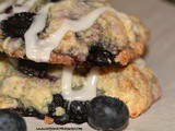 Blueberry Shortcake Cookies
