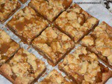 Caramel Apple Pie Toffee Bars