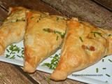 Chicken Pot Pie Turnovers