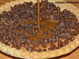 Chocolate Chip Caramel Cookie Pie