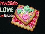 European butter cookies for valentine's day