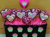 Fabulous chocolate valentine cookie pops