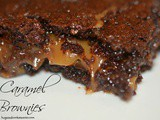German Chocolate Caramel Brownies
