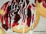 Mini Blackberry Cheese Danishes