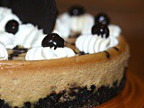 Mocha Chocolate Chip Cheesecake