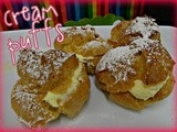 Mom's famous cream puffs