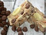 No-Bake White Chocolate Candy Bars