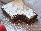 Nutella 2 Ingredient Brownies