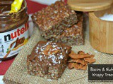 Nutella & Bacon Rice Krispy Treats