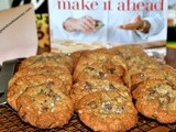 Oatmeal, Dried Strawberry & Chocolate Chip Cookies