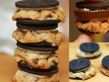 Oreo chocolate chip cookies...plus a peanut butter cup