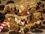 Oreo, Vanilla Pudding & Chocolate Chip Bars