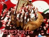 Peppermint lover's cream puffs